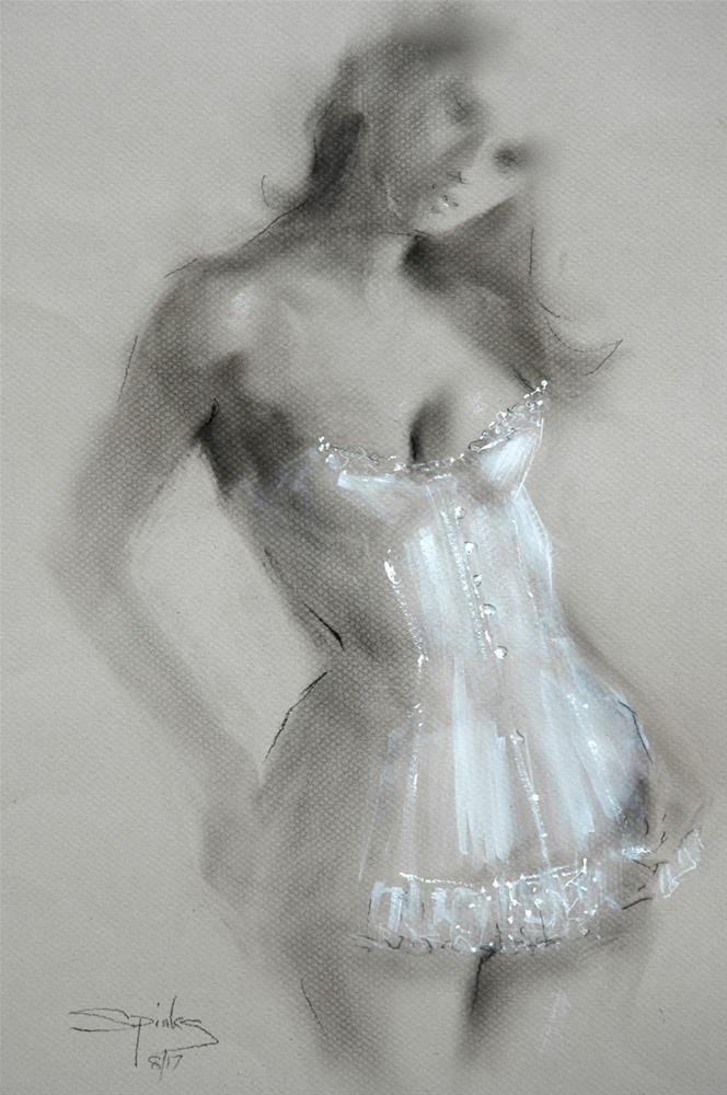 """Sheer"" original fine art by Johanna Spinks"