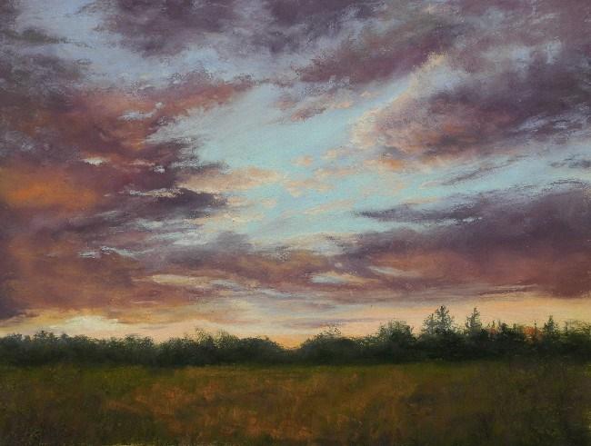 """Evening Rhapsody"" original fine art by Susan Klabak"