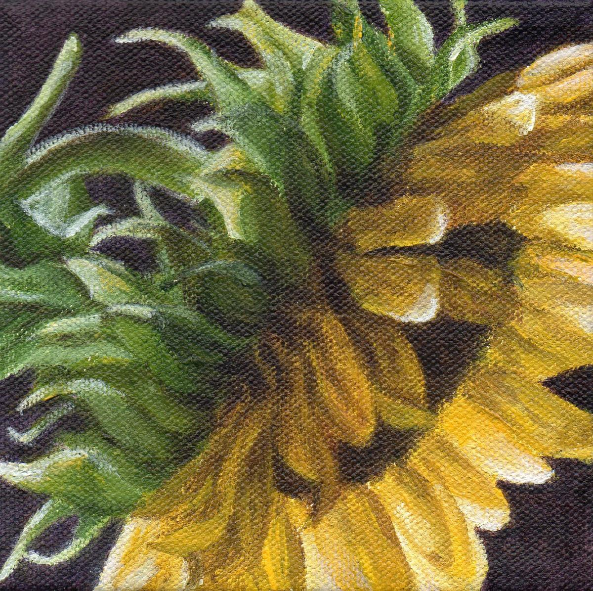 """Sun Dance Series #3 - Spring Sun"" original fine art by Debbie Shirley"