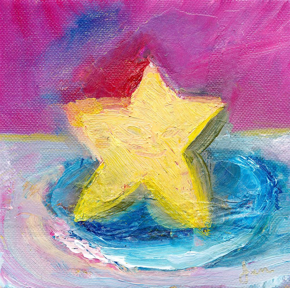 """Ms. Star"" original fine art by Janet Gunderson"