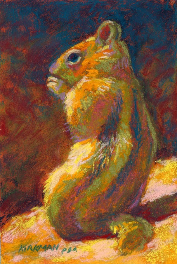 """Chippy"" original fine art by Rita Kirkman"