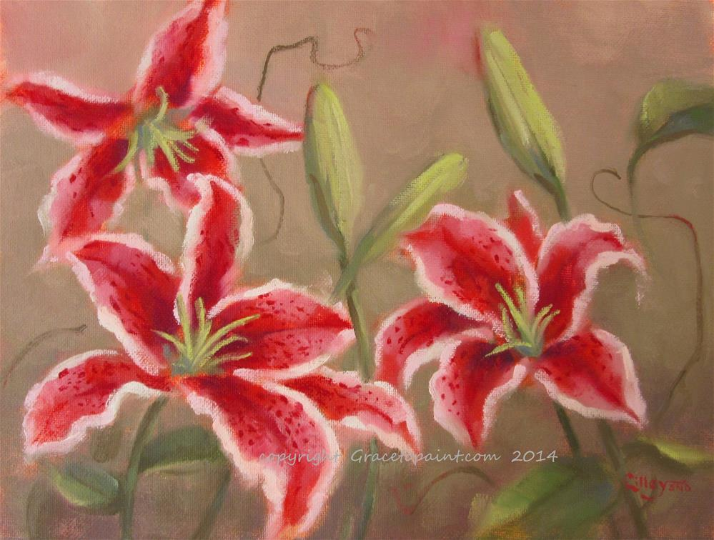 """Stargazers"" original fine art by Maresa Lilley"