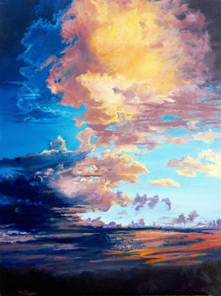 """Sunset Palette"" original fine art by Patricia Matranga"