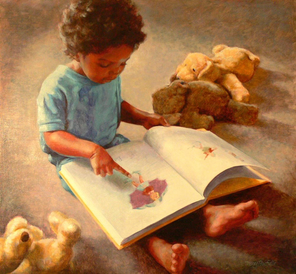 """A New World Opens"" original fine art by Mary Rochelle Burnham"