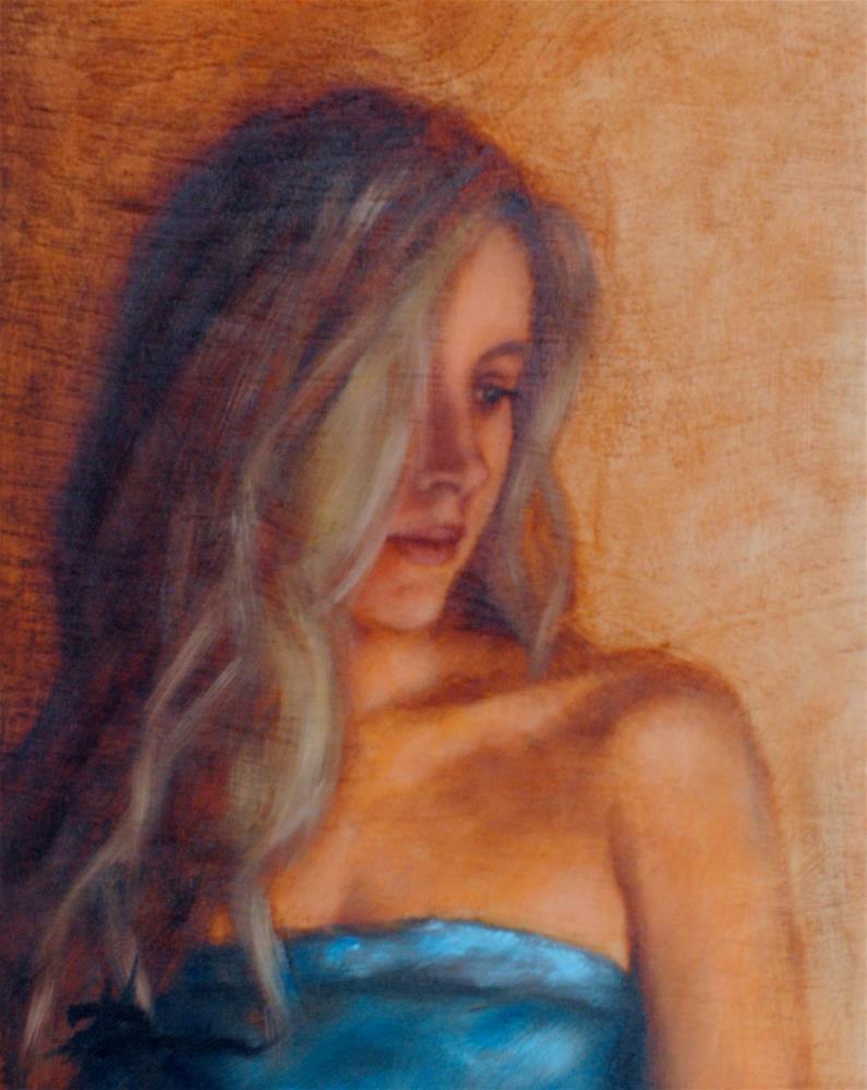 """""""Self Portrait of an Artist"""" original fine art by Kelly Berkey"""