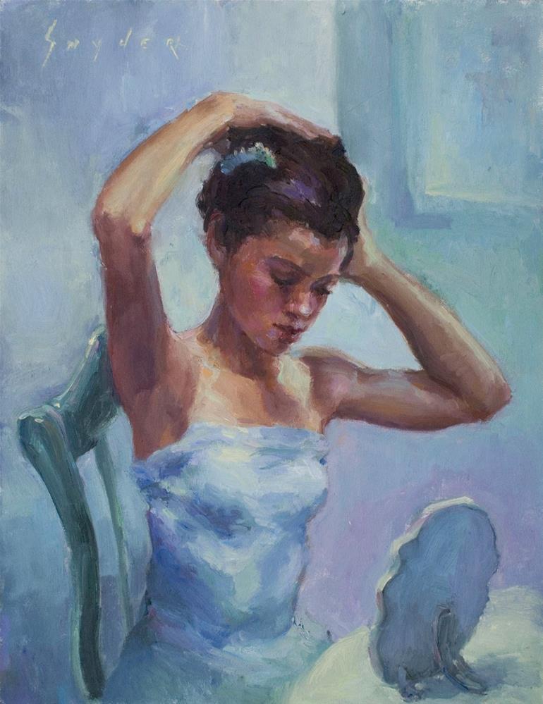 """Almost Ready"" original fine art by Julie Snyder"