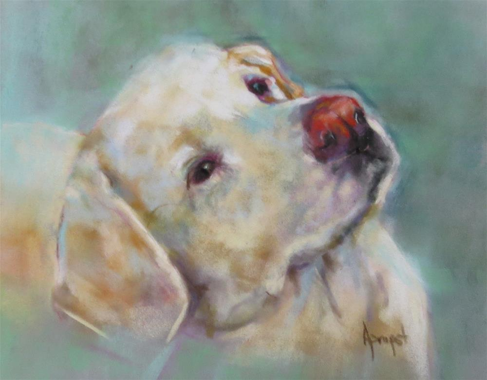 """""""Here's Looking at You"""" original fine art by Anne Marie Propst"""