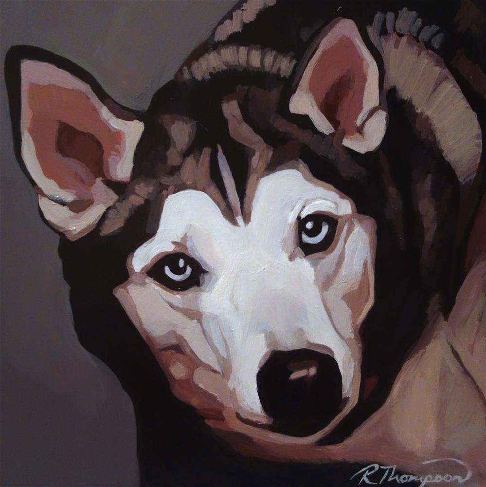 """Skylar Day 19"" original fine art by Rachel Thompson"