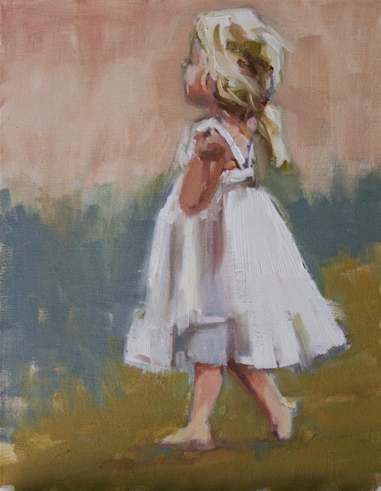 """fancy free"" original fine art by Carol Carmichael"
