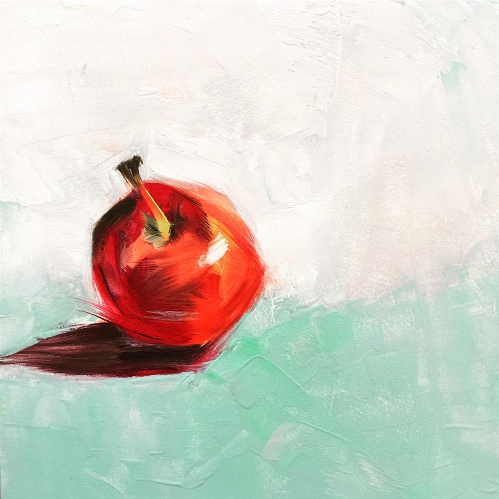 """0031CrabApple"" original fine art by Jenny Doh"