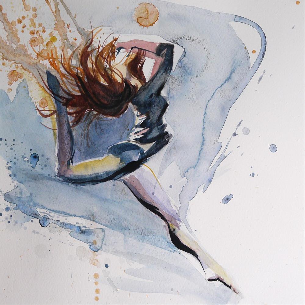 """dance"" original fine art by Beata Musial-Tomaszewska"
