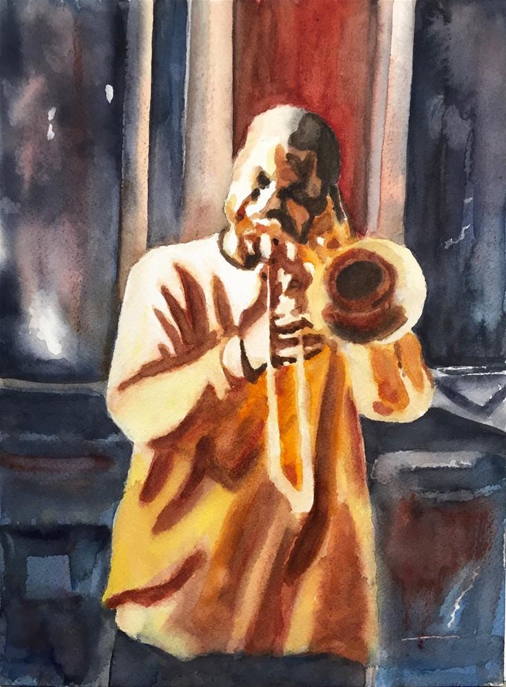 """""""Harrison"""" original fine art by Melissa Gresham"""