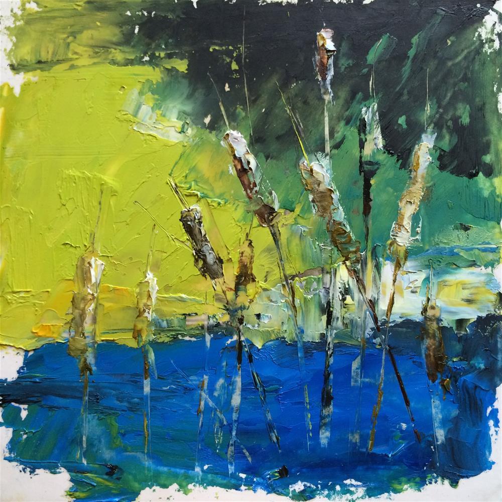 """Spring 4"" original fine art by Anny Kong"