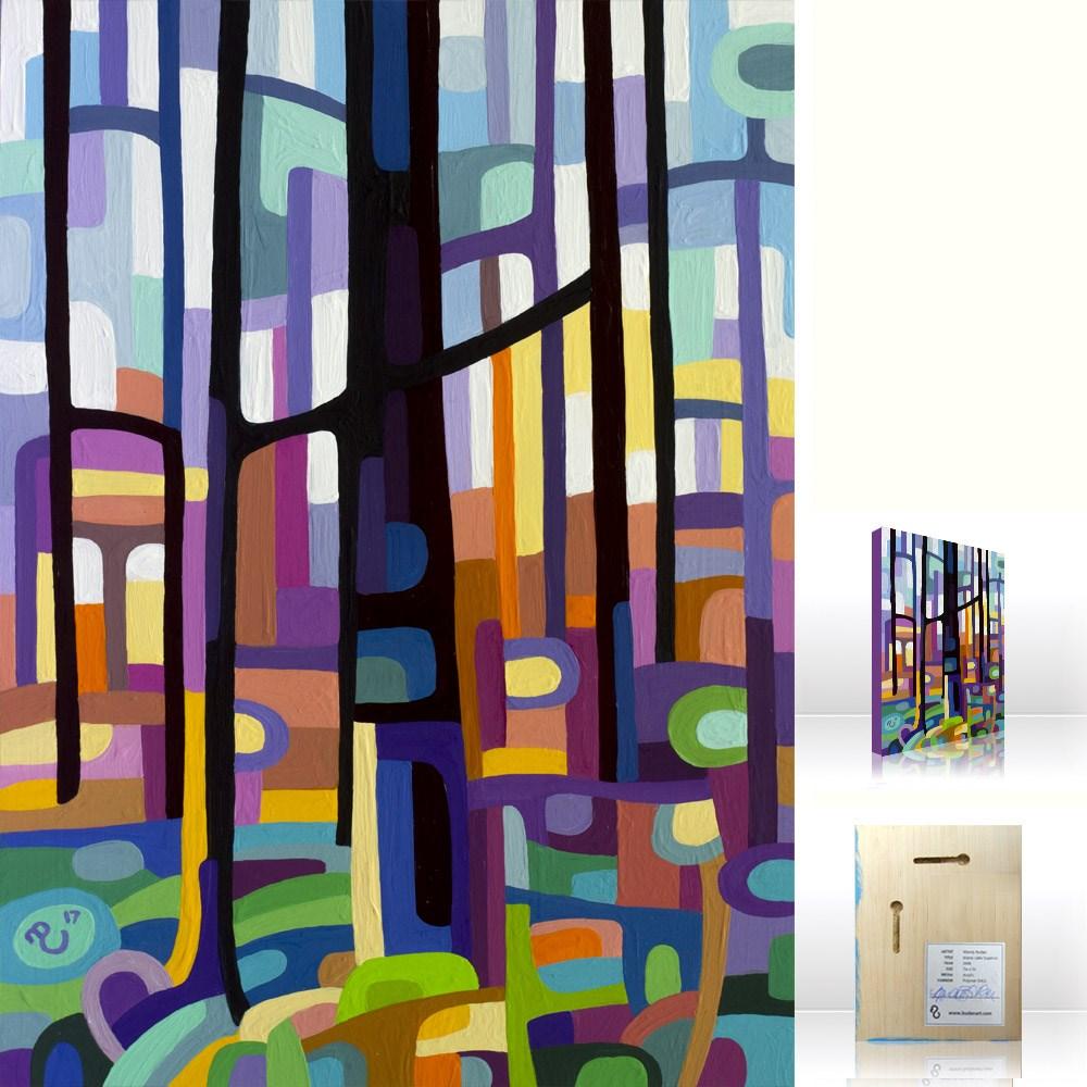 """Landscape Study #110"" original fine art by Mandy Budan"