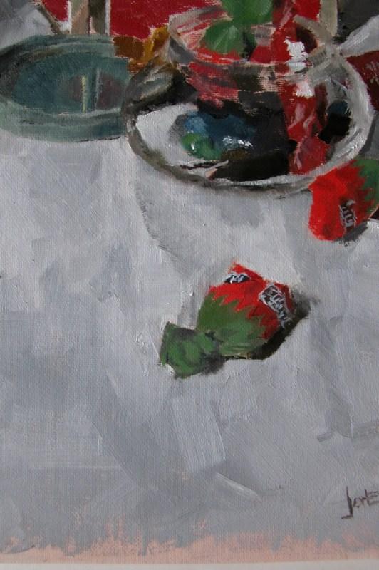 """""""Candy"""" original fine art by Richard Jones"""