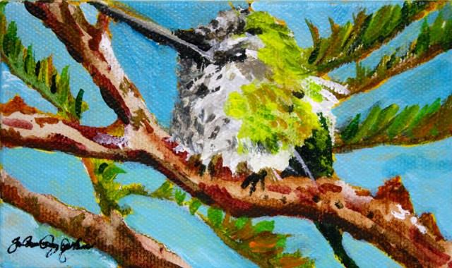 """""""Gratitude"""" original fine art by JoAnne Perez Robinson"""