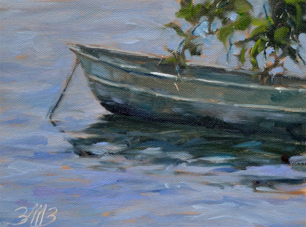 """Morning Wait"" original fine art by Brienne M Brown"