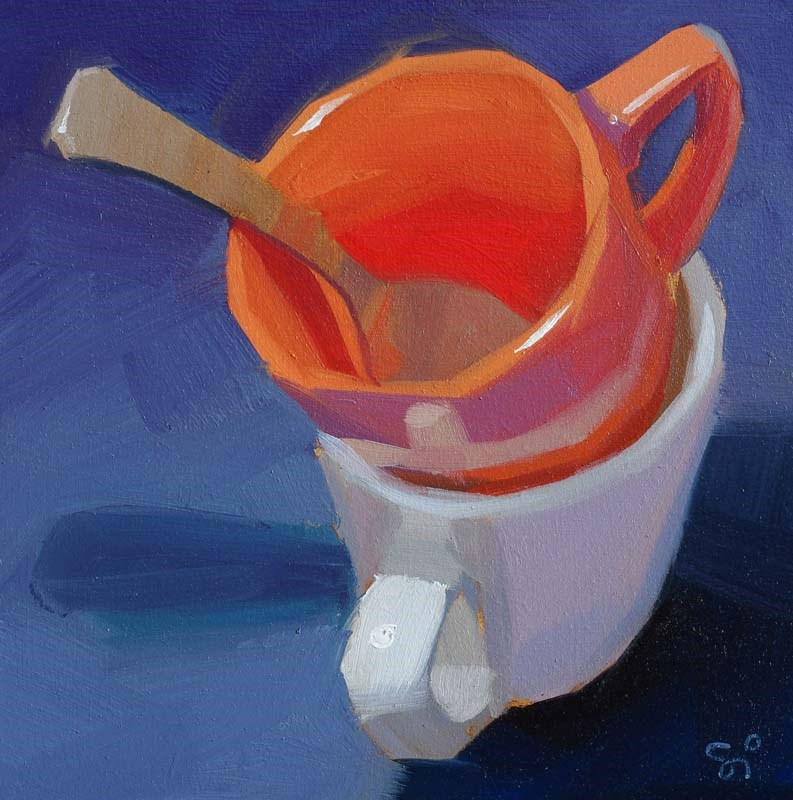 """After the Tee"" original fine art by Istvan Schaller"