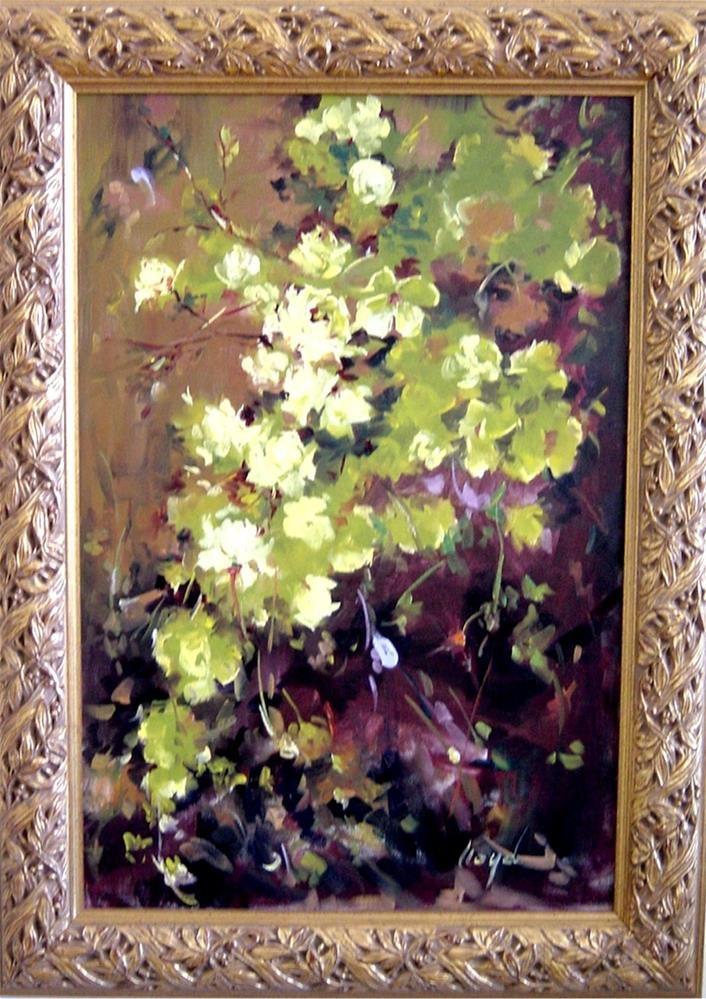 """""""Cascade"""" original fine art by Diane Lloyd"""