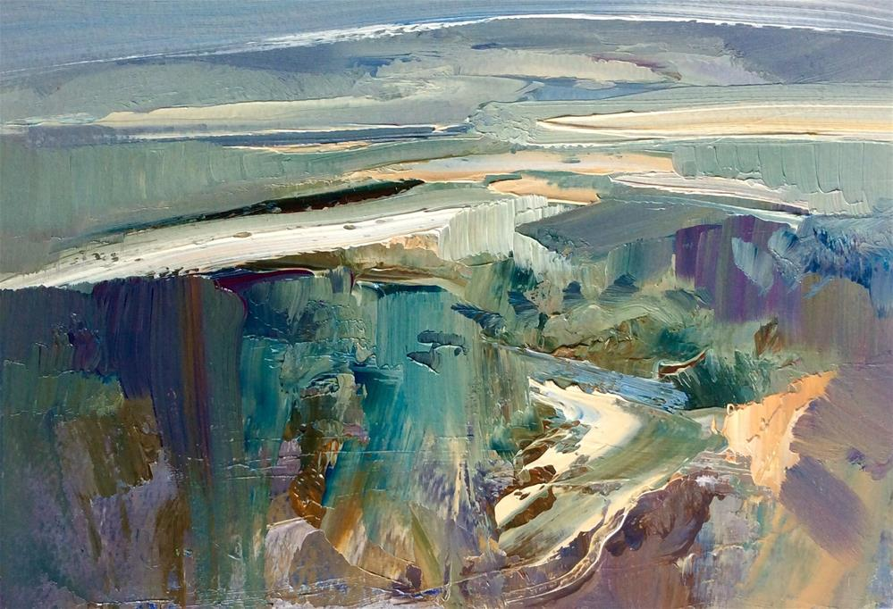 """Contemplate"" original fine art by Anne Wood"