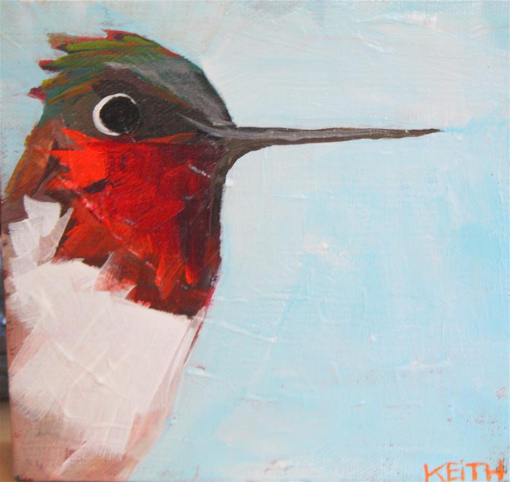 """Slick"" original fine art by Kandice Keith"