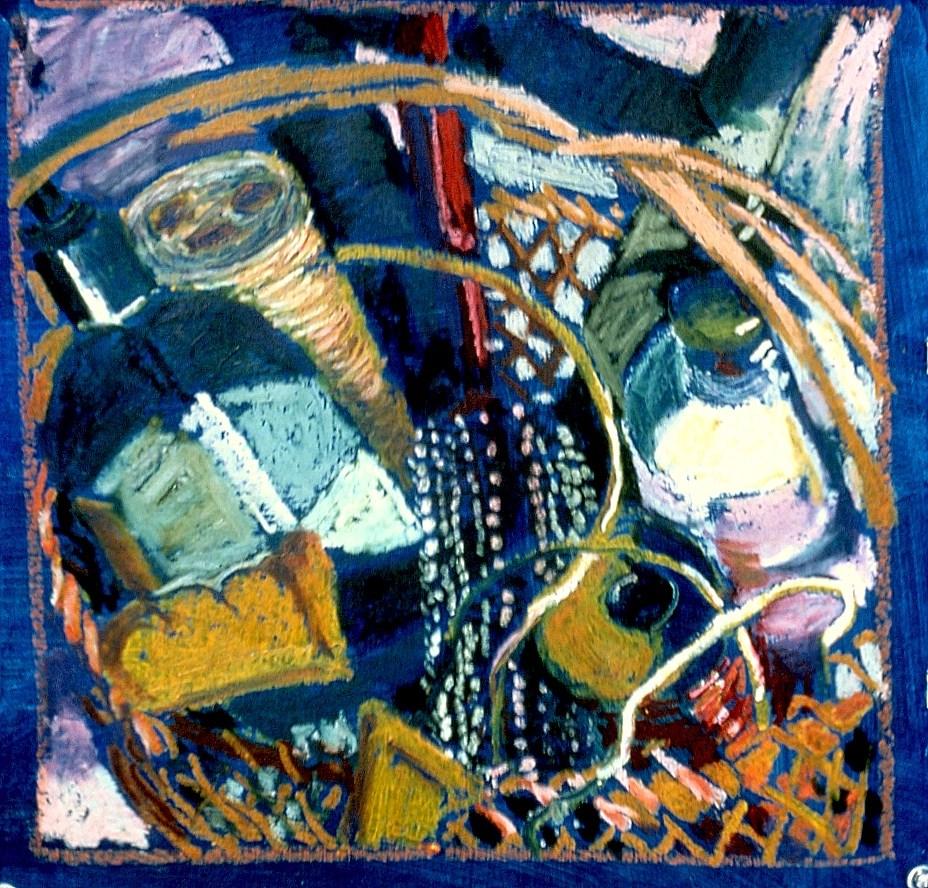 """""""Square"""" original fine art by Diane Paroda"""
