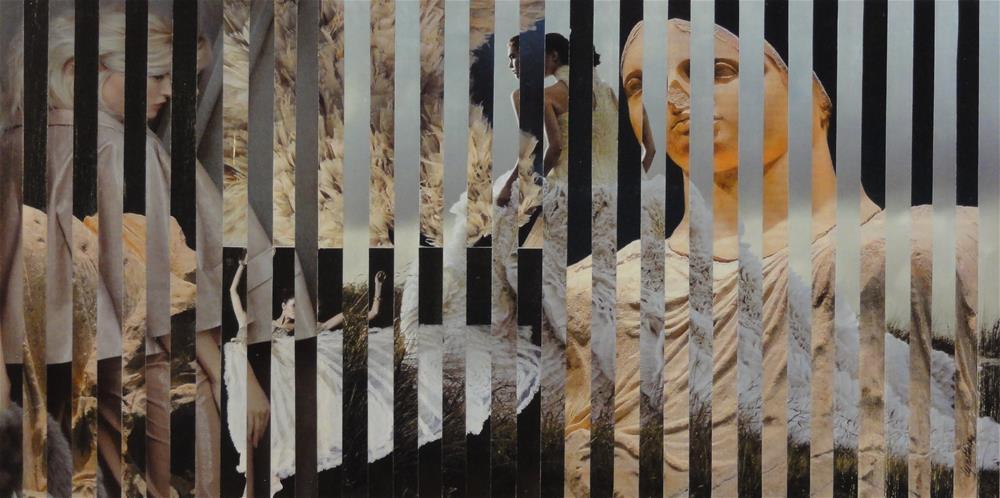 """No Second Troy (WB Yeats)"" original fine art by Cynthia Frigon"