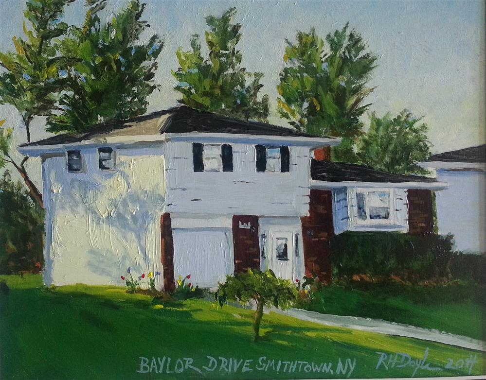 """Smithtown Homestead"" original fine art by Richard Doyle"