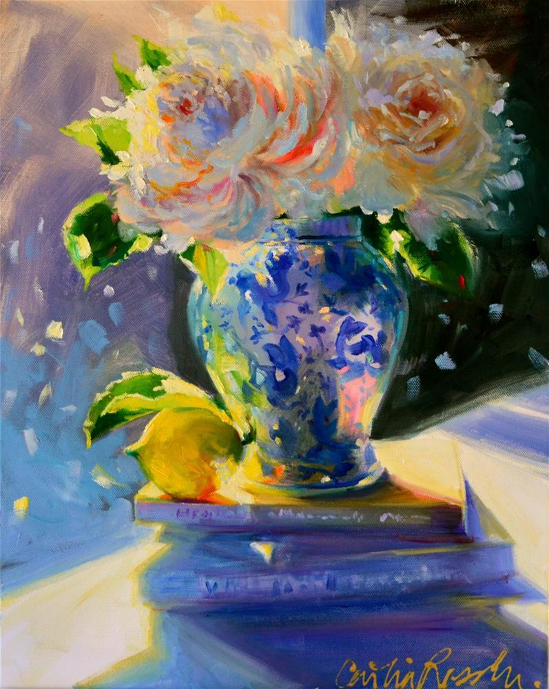 """""""'N SUURLEMOEN"""" original fine art by Cecilia Rosslee"""