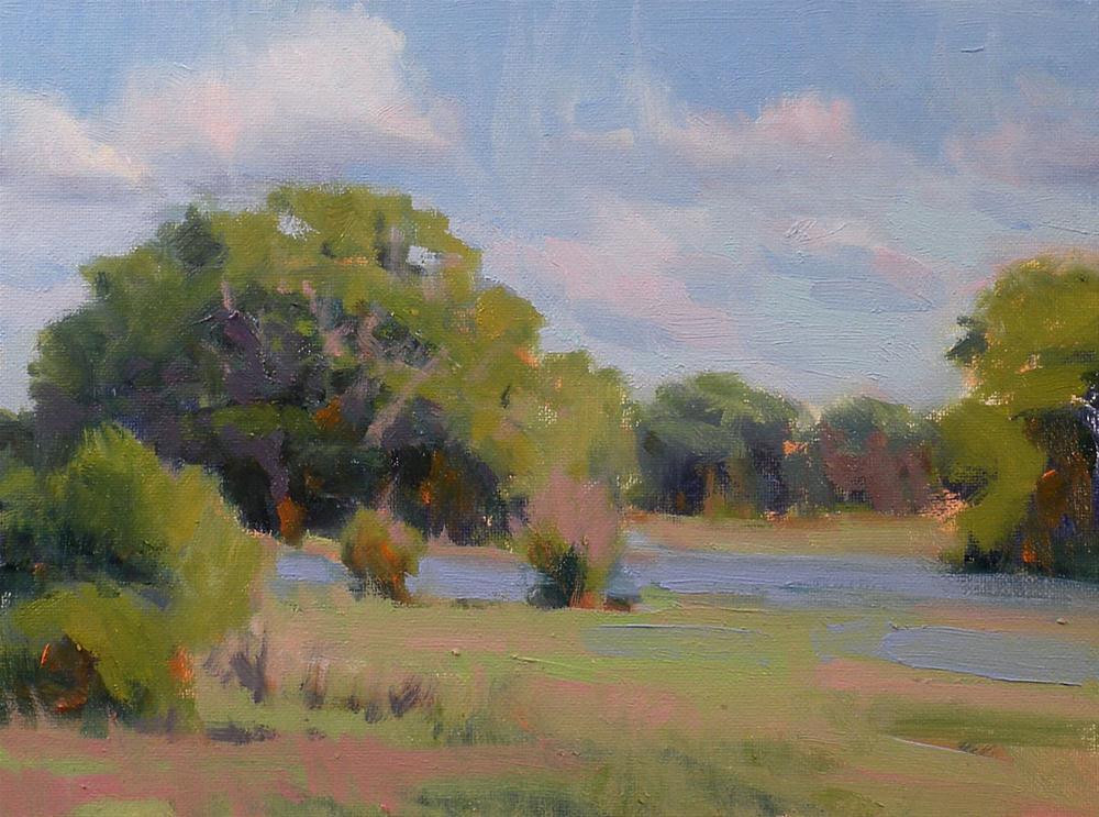 """""""Spring Greens"""" original fine art by David Forks"""