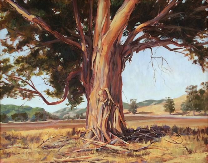 """Old Grand Dad"" original fine art by Deborah Newman"