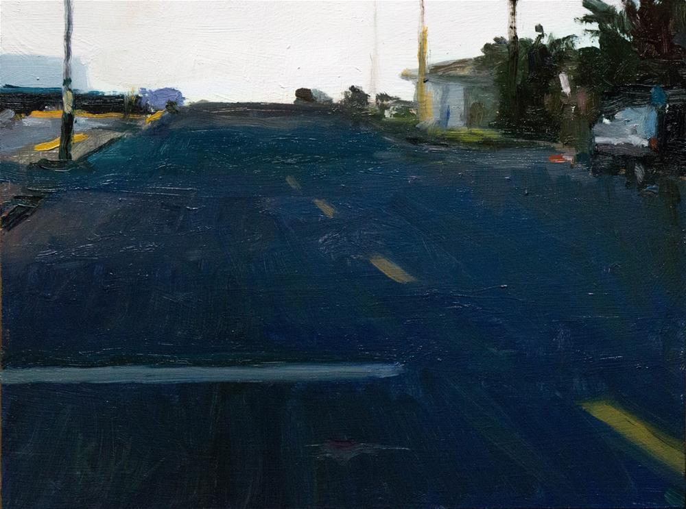 """""""Linden Drive"""" original fine art by Randall Cogburn"""