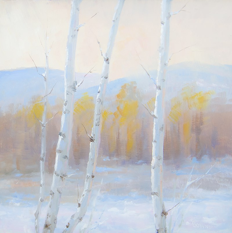 """Cold Dawn"" original fine art by Bonnie Bowne"