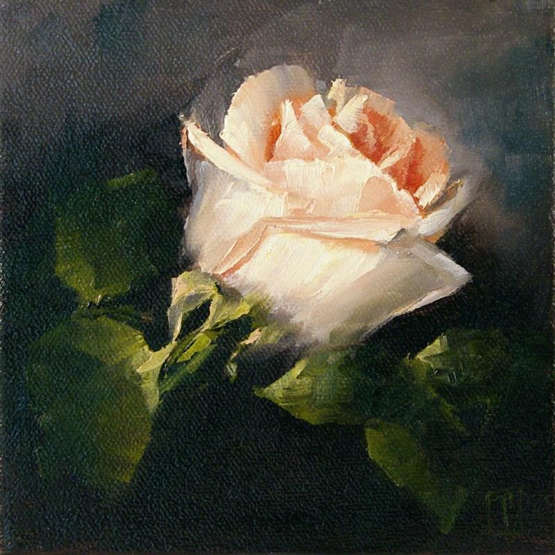 """Rose Study 5"" original fine art by Lori Twiggs"