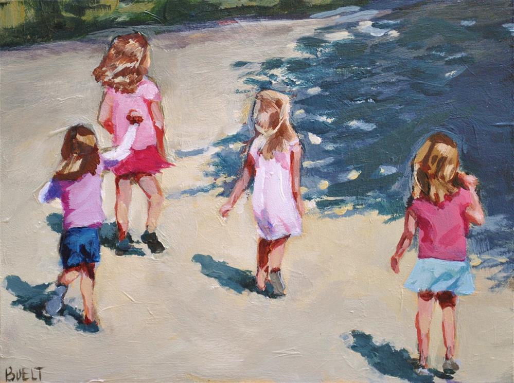 """Summer Stroll"" original fine art by Shari Buelt"