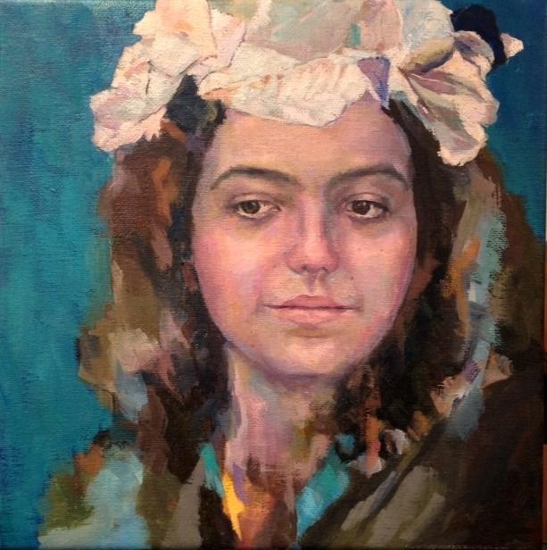 """""""Maria"""" original fine art by Katie Wilson"""