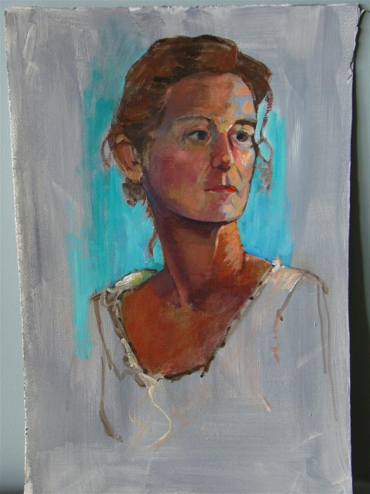 """Marie"" original fine art by meribeth coyne"