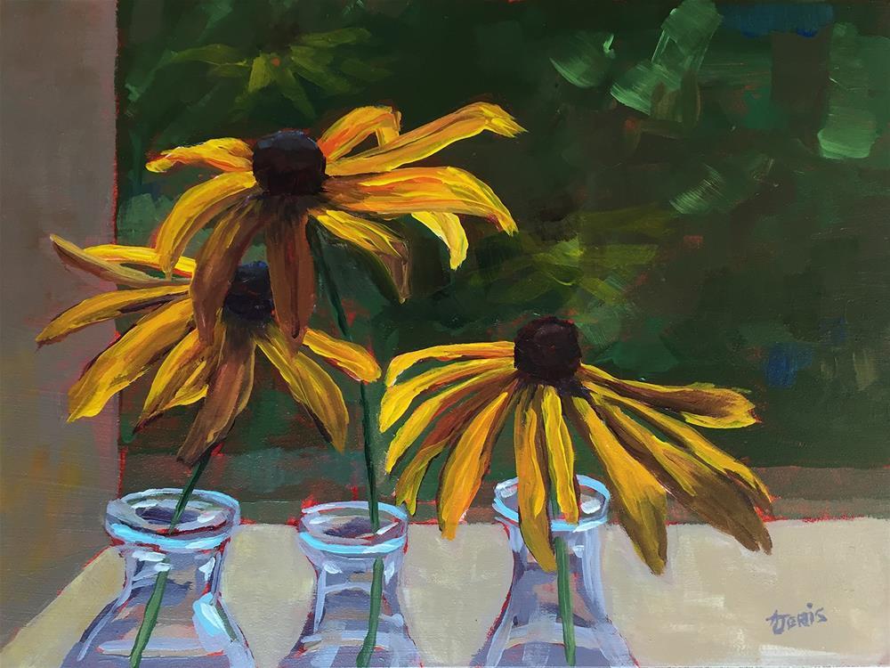 """""""Susan Triplets"""" original fine art by Andrea Jeris"""