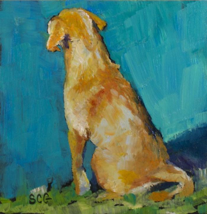 """""""Patience"""" original fine art by Sue Churchgrant"""