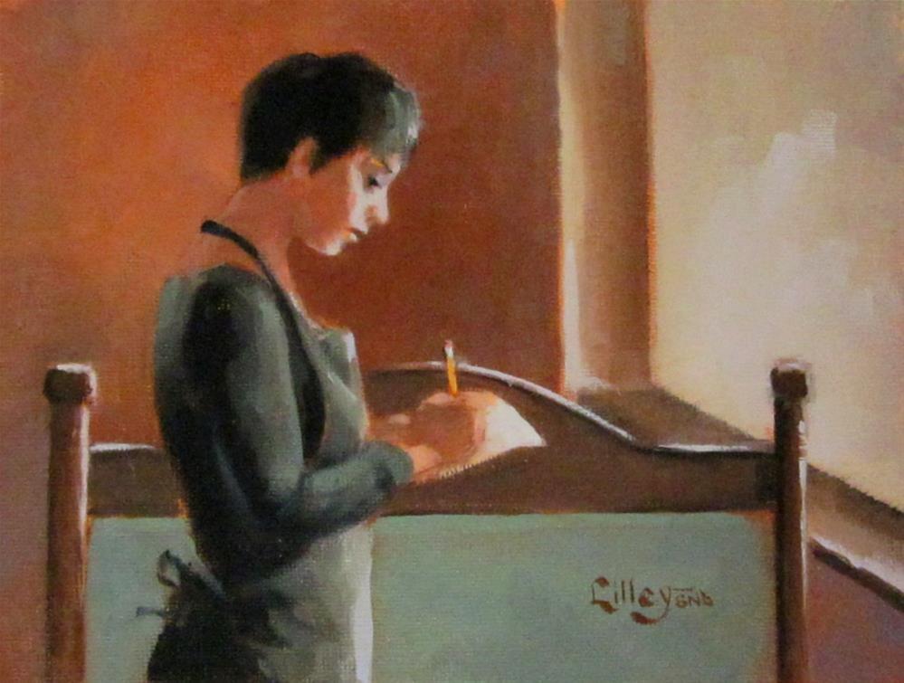 """Marisa"" original fine art by Maresa Lilley"