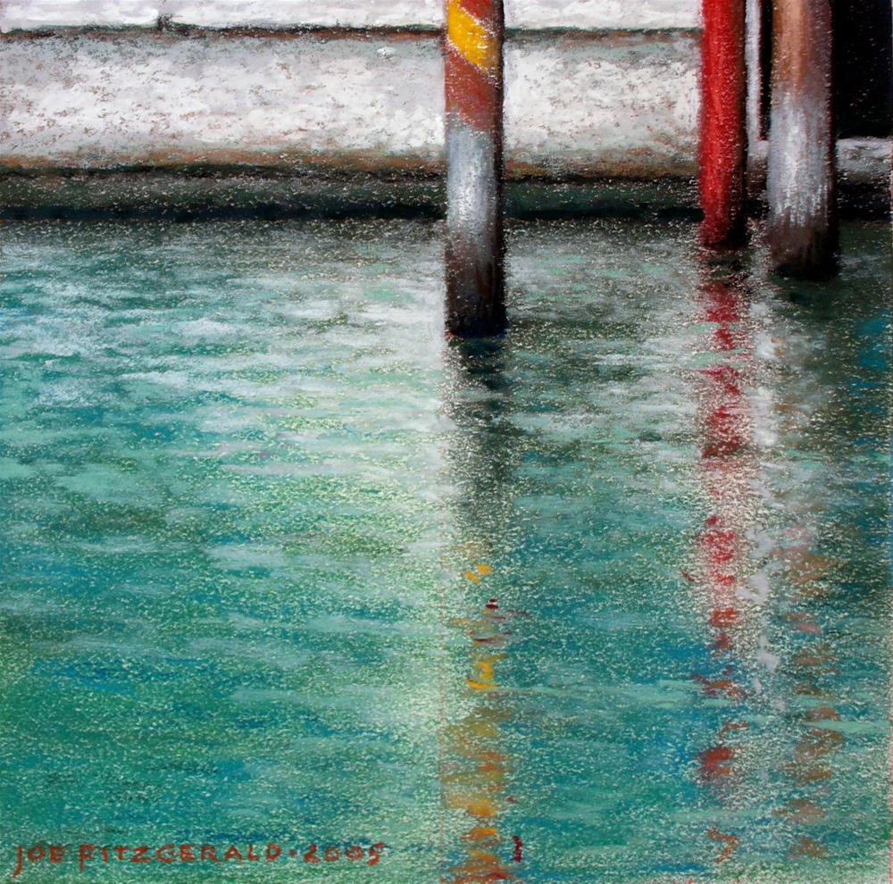 """From A Gondola III"" original fine art by Joe Fitzgerald"