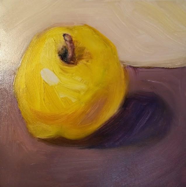 """Sunny Apple"" original fine art by Wendy Starita"
