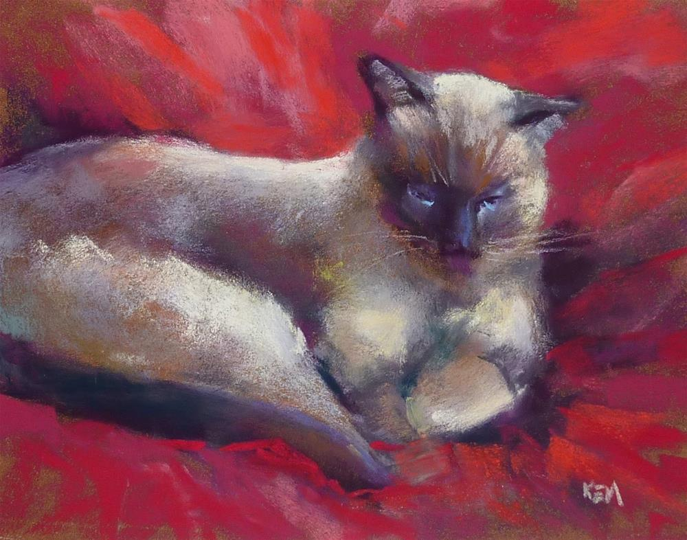 """What About the Background? Pet Portrait Tips"" original fine art by Karen Margulis"