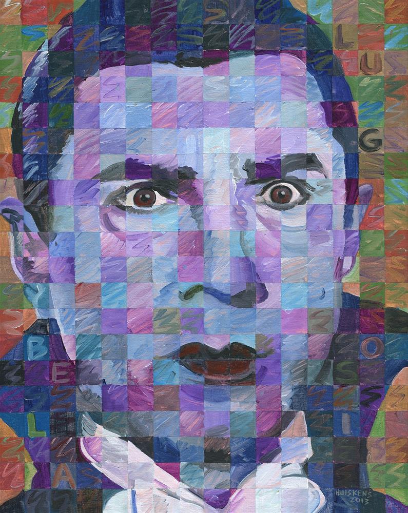 """Bela Lugosi As Dracula"" original fine art by Randal Huiskens"