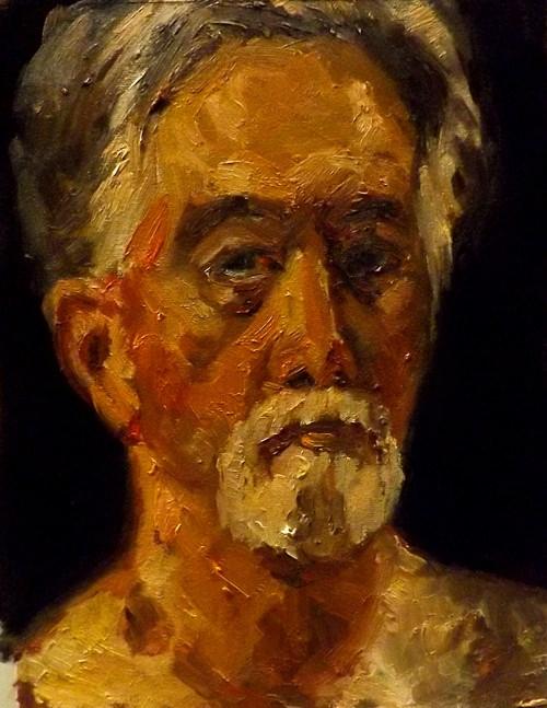 """Portrait,D13"" original fine art by Run-      Zhang Zane"
