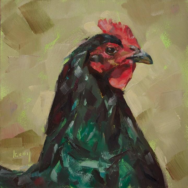 """Ms. Sassybritches"" original fine art by Kathleen Coy"