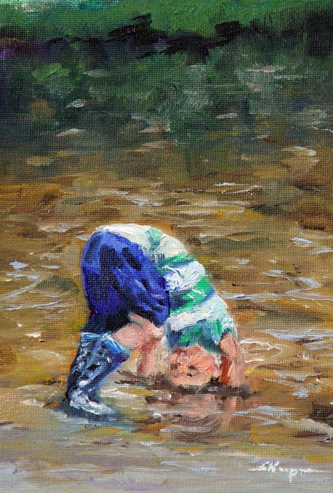 """Clowning Around"" original fine art by Shelley Koopmann"