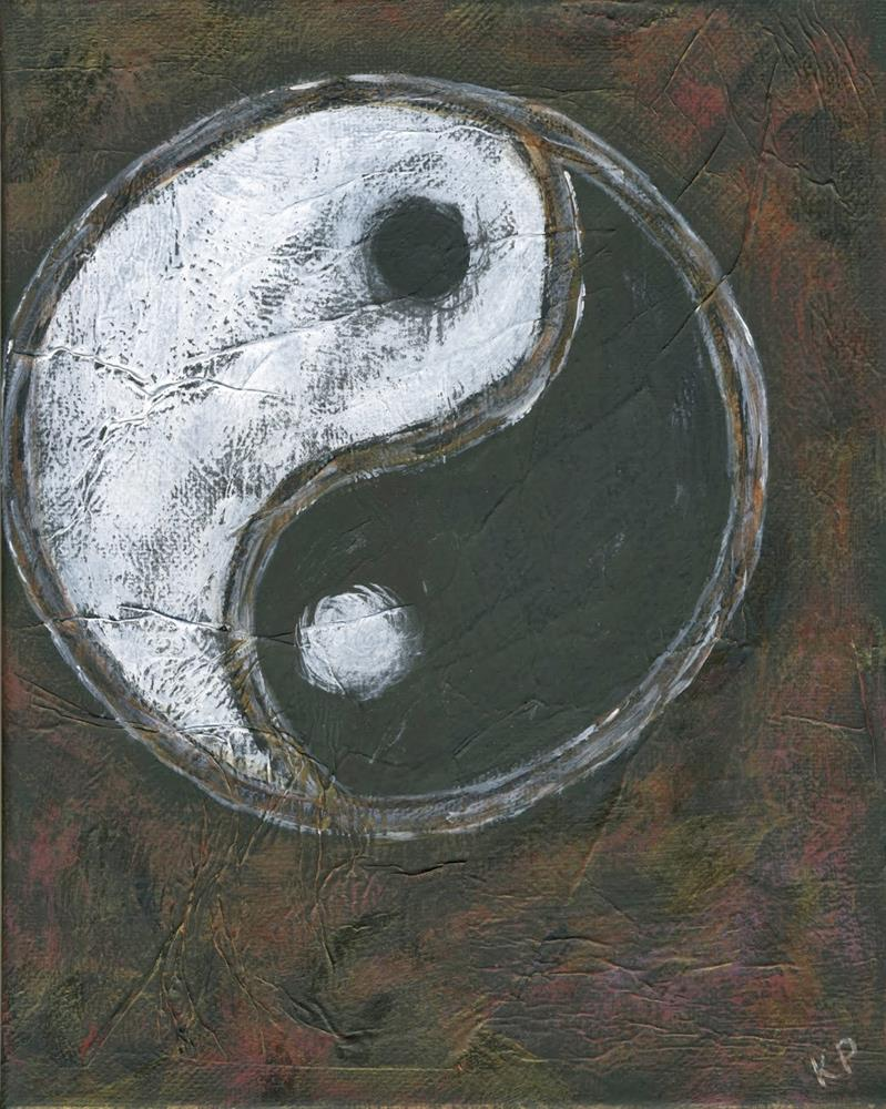 """The Yin and the Yang"" original fine art by Kali Parsons"