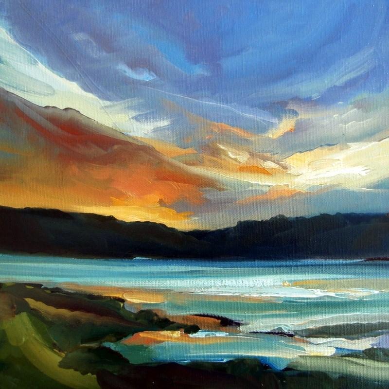 """Light Touch"" original fine art by Anne Wood"