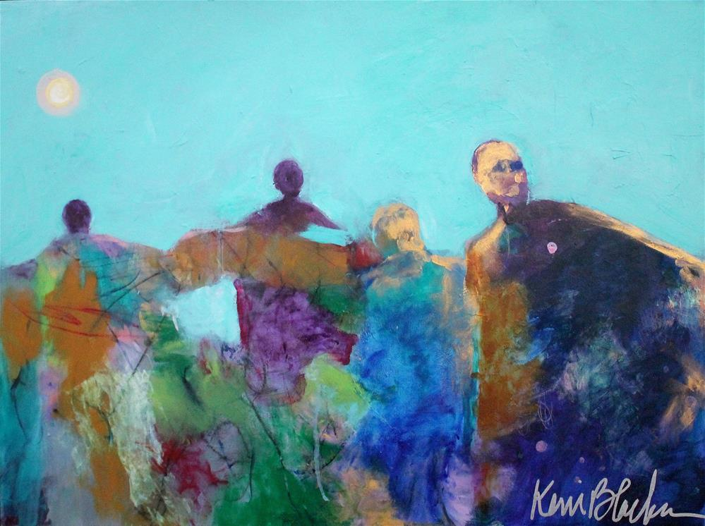 """Last Backward Glance "" original fine art by Kerri Blackman"